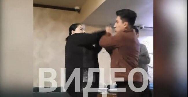 Video: Tarmoqlarda Ahad Qayum va aktrisa Halima ishtirokidagi janjal videosi tarqaldi